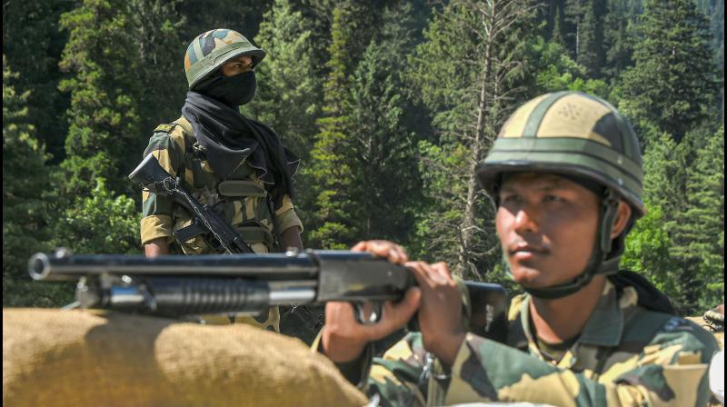 Border Security Force (BSF) personnel.