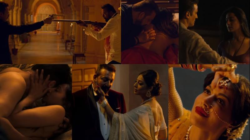 Screengrabs from the trailer of 'Saheb Biwi Aur Gangster 3.'