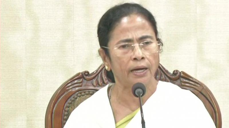 West Bengal Chief Minister Mamata Banerjee  (Photo: Twitter | ANI)