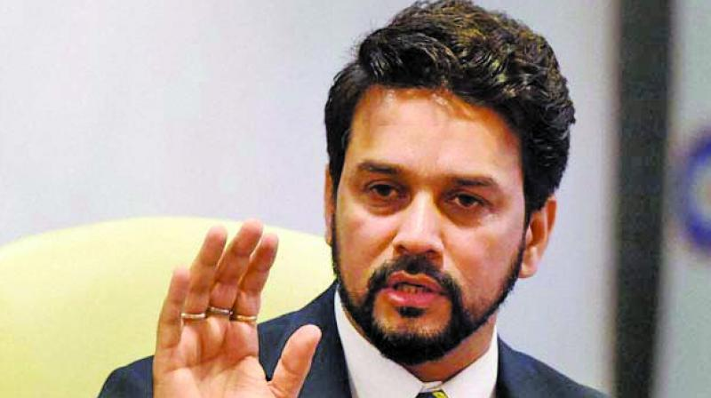 When the time arises to take a call on it (income tax relief), the government will do so. The government in the past has also increased (the limit) from Rs 2.5 lakh to Rs 5 lakh. In future, whenever the time arises, we will look into the matter, said Minister of State for Finance Anurag Singh Thakur. (Photo: File)