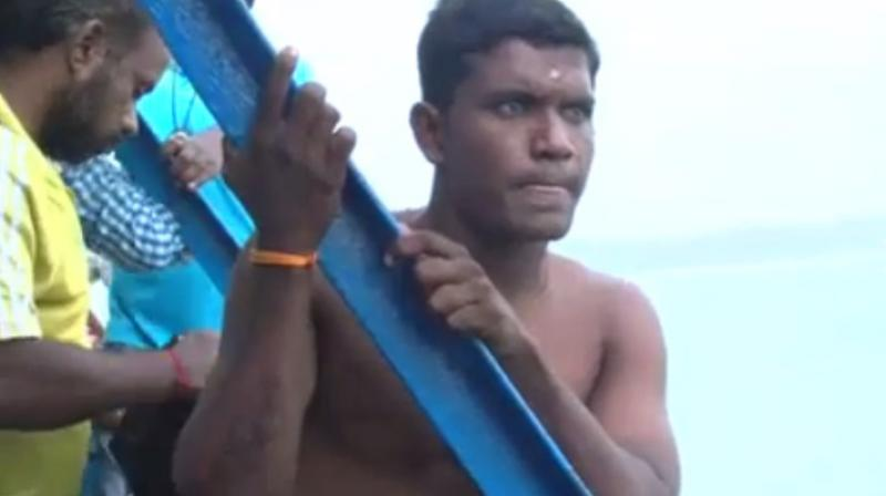 Sabarinathan's attempt has been videographed from start to finish and has been sent to the Guinness committee (Photo: YouTube)