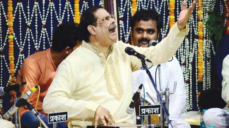Pandit Ajoy Chakravorty (Photo: Rakesh Sinha)