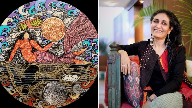 The artist says that while myths and stories give her content, it is nature itself which is her biggest inspiration.