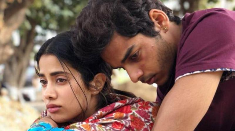 'Dhadak' is the official Hindi remake of superhit Marathi movie 'Sairat'.