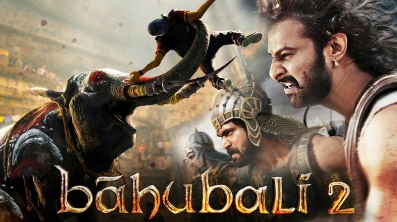 The poster of Baahubali:The Conclusion.