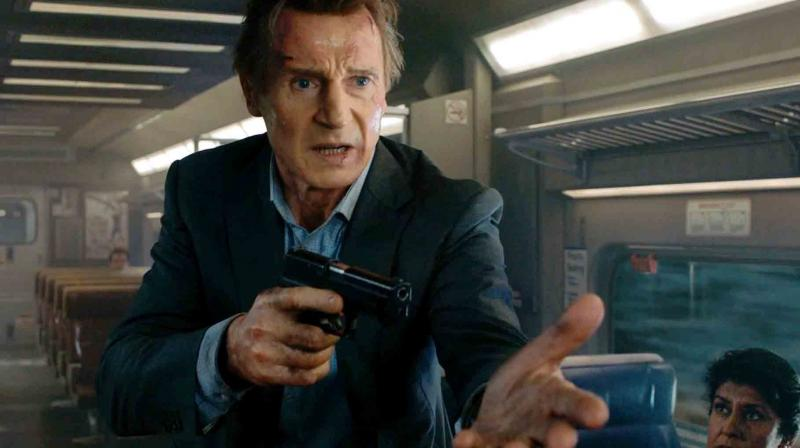 'The Commuter' is Liam Neeson and director Jaume Collet-Serra's fourth film together.