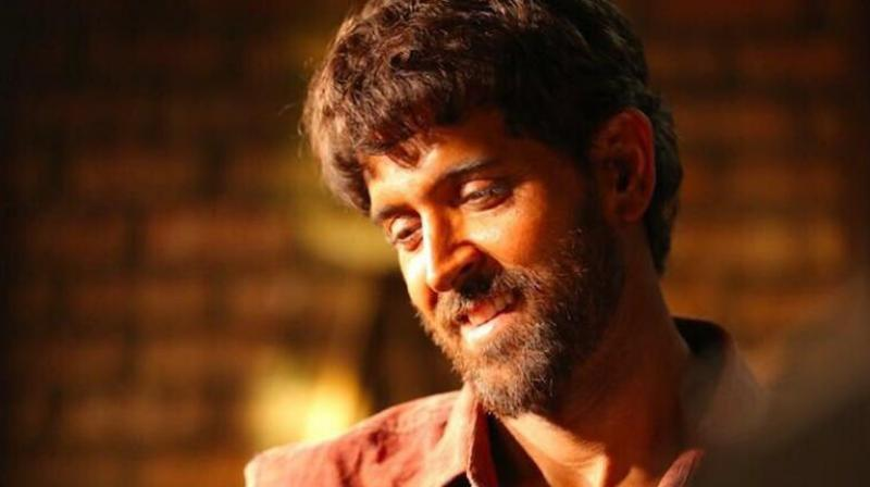 Hrithik Roshan's look in 'Super 30'.