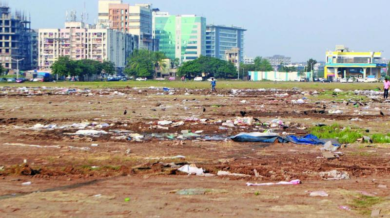 File image of the plot in BKC where the IFSC is proposed to be constructed.