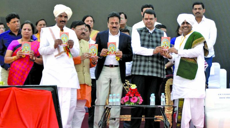 CM Devendra Fadnavis spoke at a valedictory function of a housing exhibition in Nashik on Tuesday.