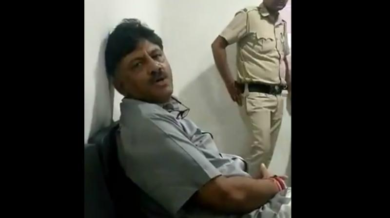 The Enforcement Directorate (ED) on Saturday alleged that jailed Karnataka Congress leader D K Shivakumar is in the practice of influencing the witness. (Photo: File)