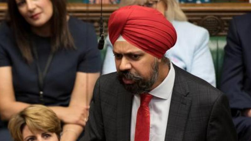 Dhesi ordered Johnson to launch an inquiry into alleged Islamophobia within his own Conservative Party. (Photo: Twitter)