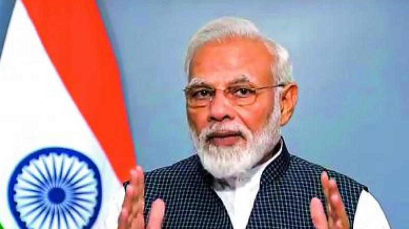 Prime Minister Narendra Modi on Thursday paid tribute to India's first prime minister Jawaharlal Nehru on his birth anniversary. (Photo: File)