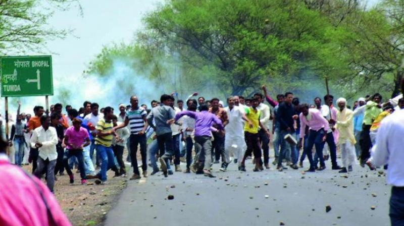 Last year's farmers' stir in MP had turned violent leading to the death of six farmers in police firing. (Photo: PTI/Representational)