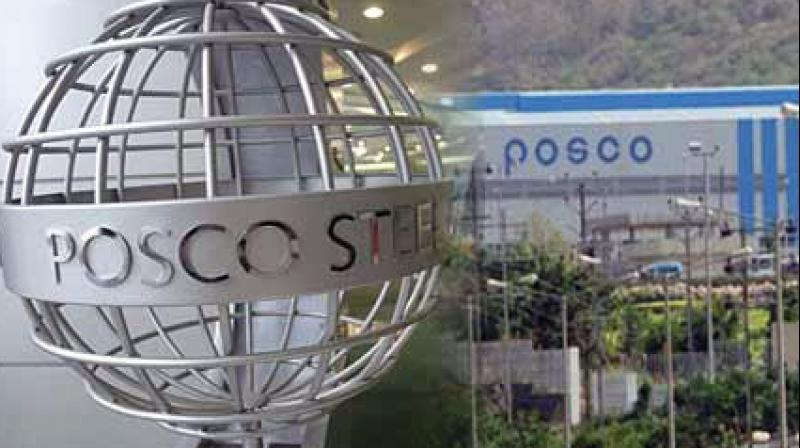 Posco had planned to invest Rs 52,000 crore on the project in Odisha's Jagatsinghpur district.