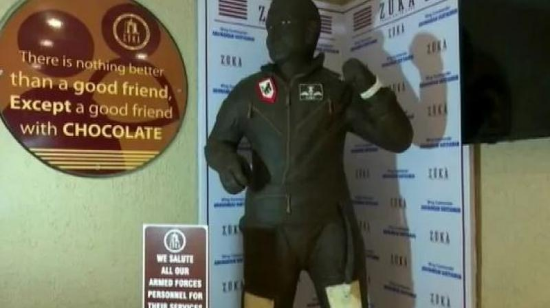 Founded in 2009, the cafe annually pays its respect to popular personalities in the form of life-sized, hand-crafted chocolate statues. (Photo: ANI)
