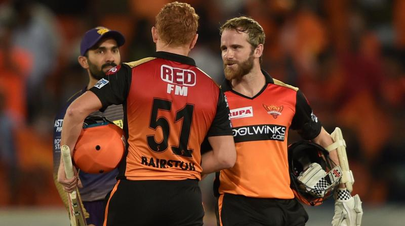 Kane Williamson then joined Bairstow and both the batsman took their side over the line and claimed a nine-wicket victory over the visitors (Photo: AP)