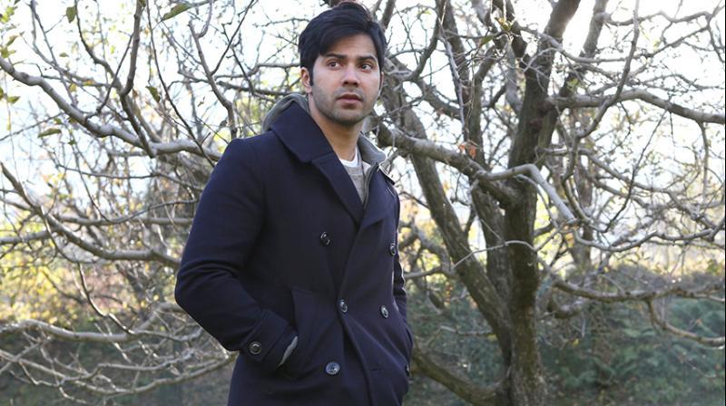 Varun Dhawan in the still from 'October'.