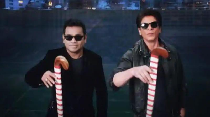 Shah Rukh Khan and AR Rahman feature in the song teaser.