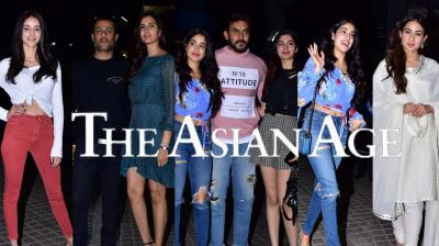 Ahead the release of Abhishek Kapoor's Kedarnath, Bollywood celebrities appeared for the special screening of the film including Janhvi Kapoor, Ishaan Khatter, Kartik Aaryan, Yami Gautam among others. Check out the exclusive pictures right here. (Photos: Viral Bhayani)