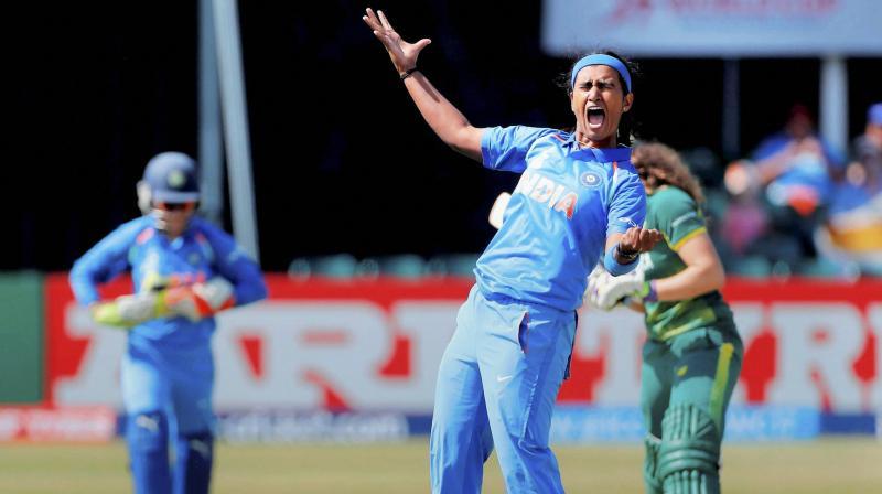 Shikha Pandey (Photo: AP)