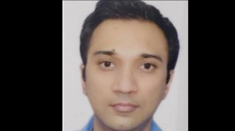 Siddharth Sanghvi lived with his wife and four-year-old son at Malabar Hills in South Mumbai. (Photo: Facebook Screengrab/ Anand Mathur)