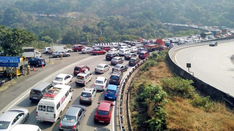 Representational picture of Mumbai-Pune e-way.