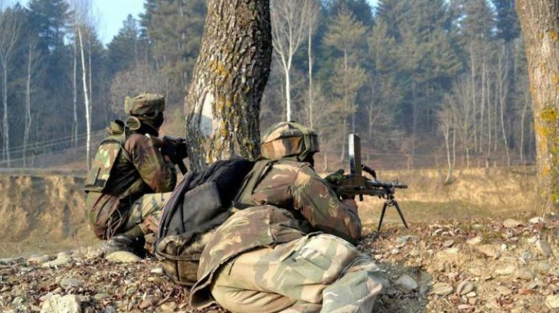 Pakistan Army said on Saturday that two of its soldiers were killed in an exchange of fire with Indian forces near the Line of Control (LoC). (Representational Image)