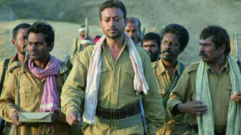 Actor Sitaram Panchal has done many films and TV shows. Here, he is seen sharing the screen space with Irrfan Khan and Nawazuddin Siddiqui in Paan Singh Tomar.