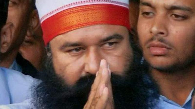 51-year-old Sirsa-based sect head Gurmeet Ram Rahim is currently serving a 20-year-prison term in Rohtak's Sunaria jail for raping two of his women followers. (Photo: File | PTI)