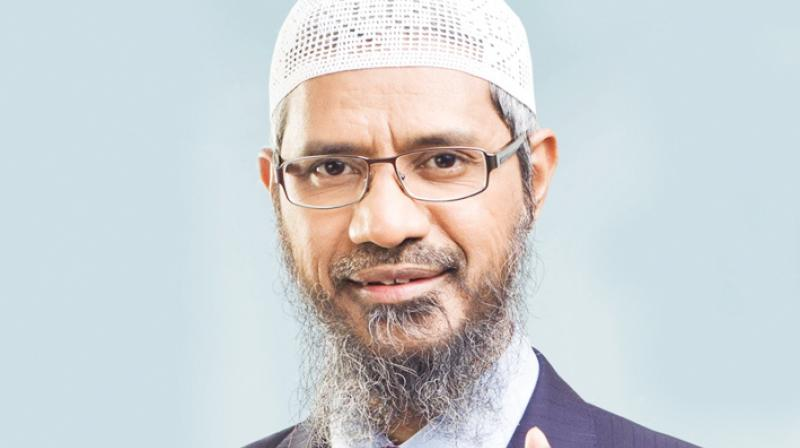 The polarising preacher has been on the radar of Indian security agencies for years but it was only after the men involved in the 2016 terror attack in Bangladesh's Dhaka described Naik as their inspiration that the crackdown really started. (Photo: PTI)