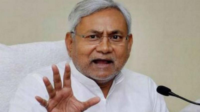Nitish Kumar said he was in favour of treating the extremely backward classes among the OBCs as a separate category at the national level. (Photo: File | PTI)