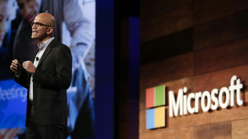 Microsoft CEO Satya Nadella (Photo: AFP)