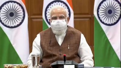Modi opens his mann to drones