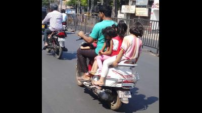 Helmets soon to become mandatory for children on motorbikes
