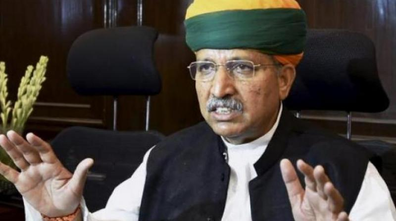 Meghwal alleged that the previous Congress-led United Progressive Alliance (UPA) government at the Centre was more concerned about Bhandari than the Indian Air Force (IAF).  (Photo: File)