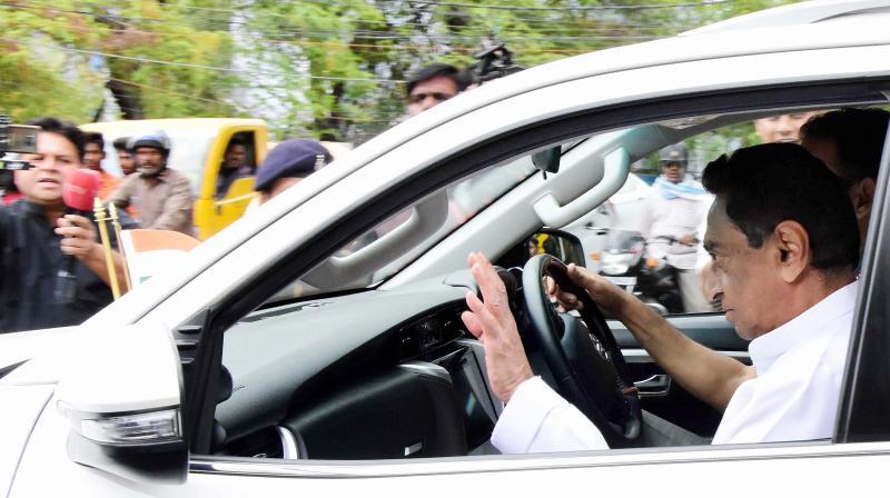 Madhya Pradesh CM Kamal Nath. PTI photo