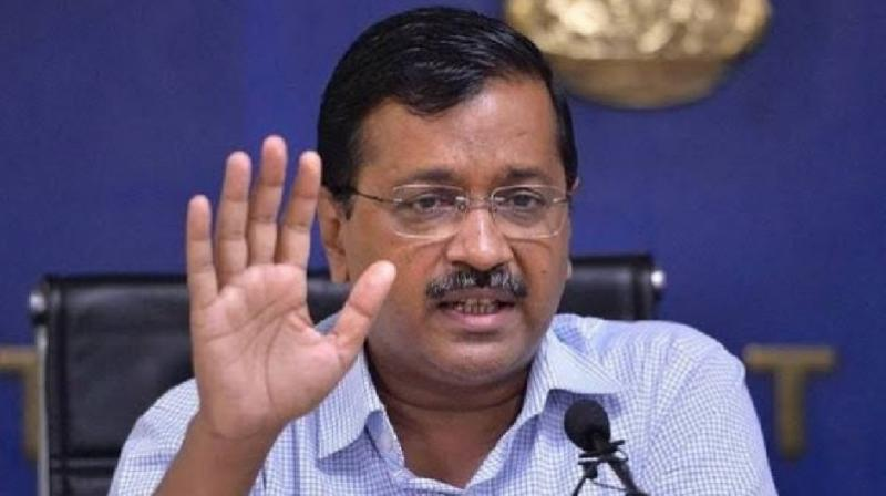 File image of Delhi chief minister Arvind Kejriwal. (PTI)