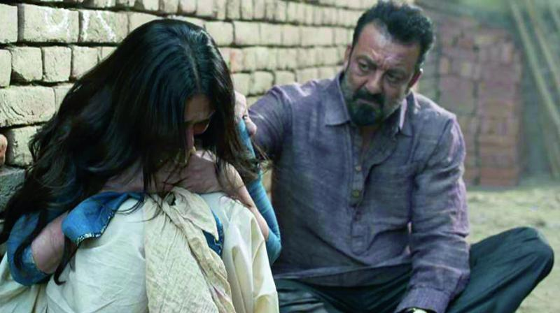 Stills from Bhoomi and Mom
