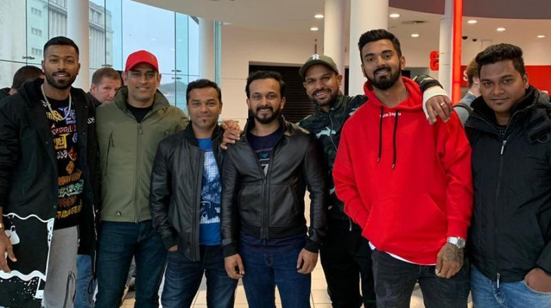 Team India watch Salman Khan's Bharat in England. (Photo: Twitter)