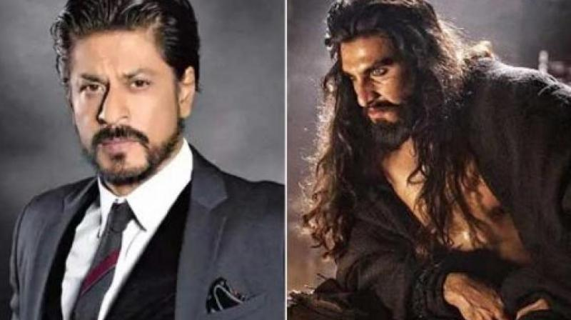 Shah Rukh Khan, Aamir Khan and Amitabh Bachchan were among those who didn't react to the 'Padmaavat' controversy.