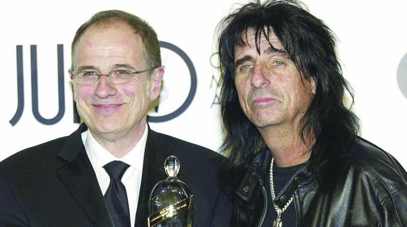 Ezrin with singer Alice Cooper