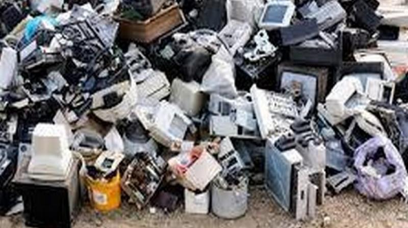 According to the report, 44.7 million tonnes of e-waste was generated worldwide in 2016 which is expected to grow at a rate of 3.15 per cent (CAGR). (Photo: ANI)