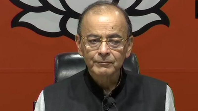 Jaitley said India's growth has stabilised between 7-7.5 per cent and irrespective of global trends, domestic consumption is going to increase. (Photo: File)