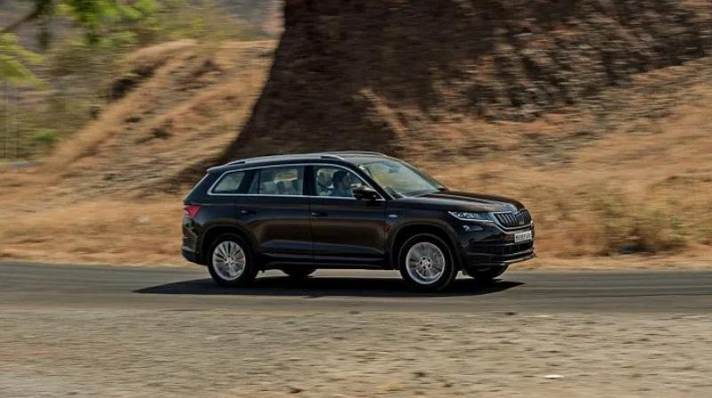 The Kodiaq is only sold with a 2.0-litre diesel engine in India at present.