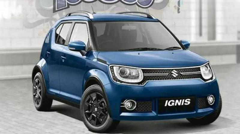 The Maruti Suzuki Ignis was launched in India in January 2017.