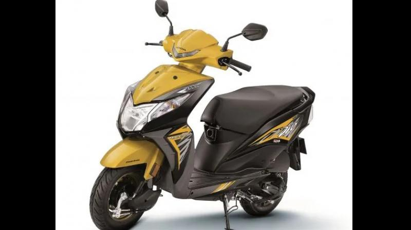 In India, the Honda Dio has managed to be the fourth best selling scooter on sale, despite newer and more exuberant options.