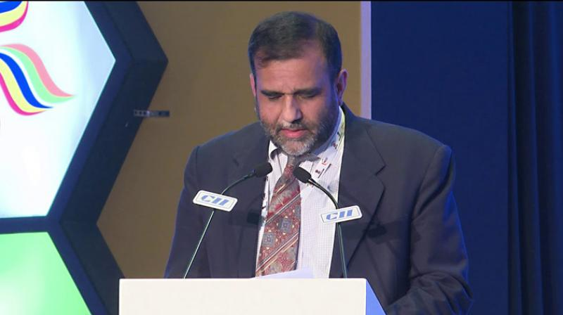 Commerce Secretary Anup Wadhawan said that packaging should be done in a manner by which products or goods inside should be safe and not get damaged. (Photo: File | YouTube screengrab)