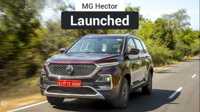 MG Hector prices range: Rs 12.18 lakh to Rs 16.88 lakh (ex-showroom pan-India).