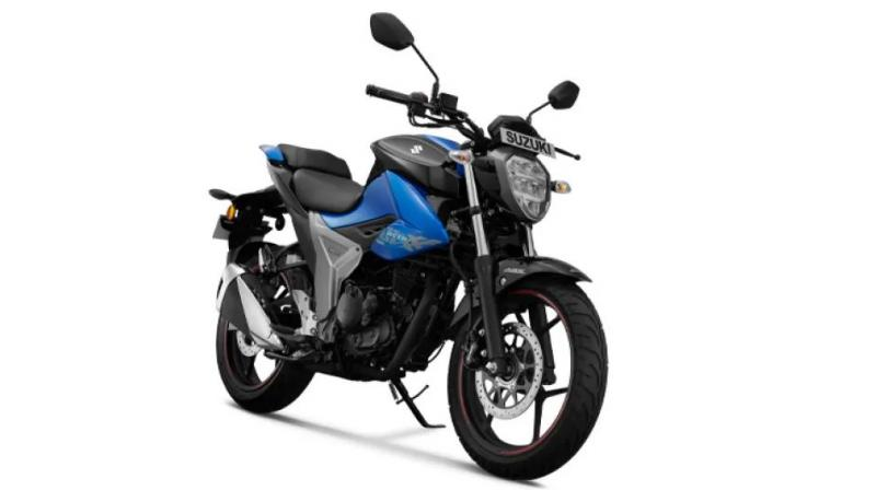 The new Suzuki Gixxer features a fuel-injected, BS6-ready engine.