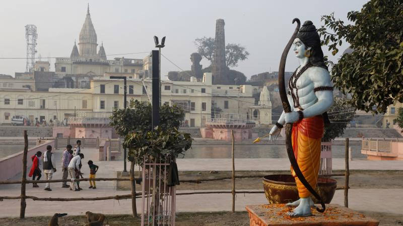 Enthused by the Supreme Court verdict, the secretary of the trust, Kishore Kunal, had earlier announced here that the Patna-based religious body will contribute Rs 10 crore for the construction of a temple for Ram Lalla. (Photo: Representational)